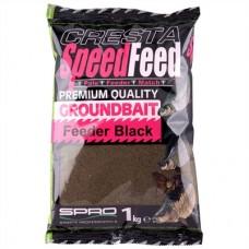 Cresta Speedfeed Groundbait Feeder Black