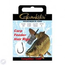 Gamakatsu Method Hair Rig 12cm thickness 0,16 Hook 14