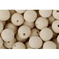 Fluo White Choco Boilies Pre Drilled 9mm