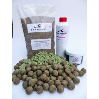 Carp Session Pack Green Betaine 15mm