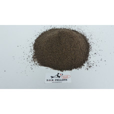 Crushed Halibut groundbait  black 0.8mm
