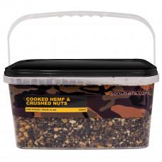 Sonubaits Bucket Hennep & Nutty mix 4 kilo